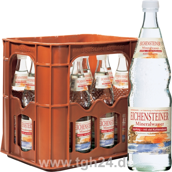 eichensteiner mineralwasser spritzig 12x0 7 l tgh24. Black Bedroom Furniture Sets. Home Design Ideas
