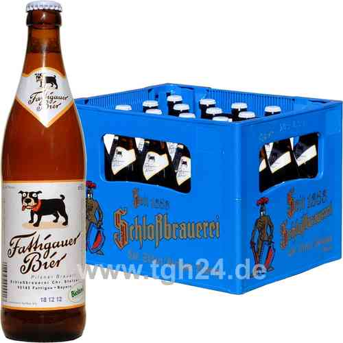 Fattigauer Bier Bio Pilsner 20x0 5 L Tgh24