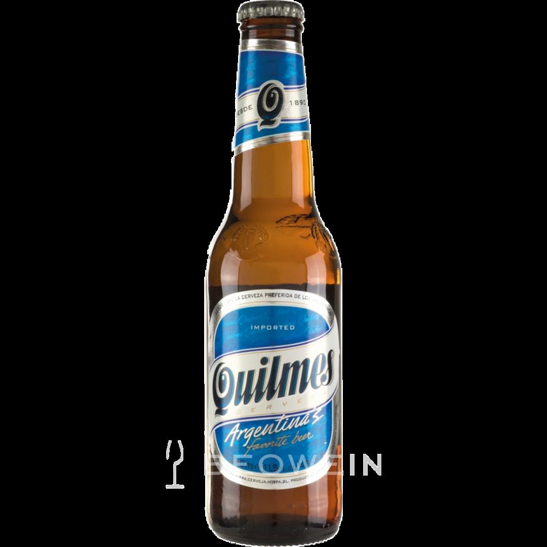 quilmes 0 34 l bier aus argentinien g nstig kaufen bei beowein. Black Bedroom Furniture Sets. Home Design Ideas