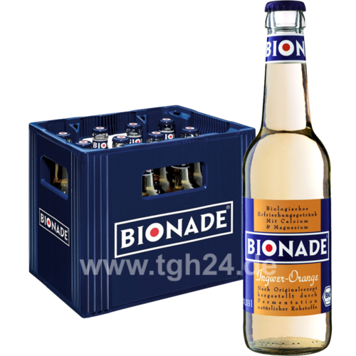 Bionade Ingwer-Orange 12x0,33 l